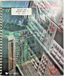 Keithley 2400 Source Meter Service Manual P n 2400 902 01b