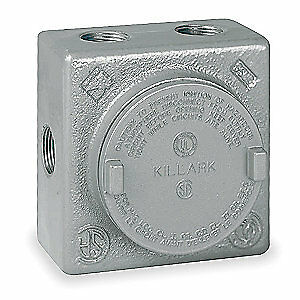 Hubbell Killark Body outlet 3 4 In Grss 2m Silver
