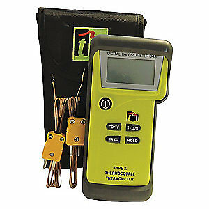 Test Products Intl Dual Temperature Thermometer type K 343c1