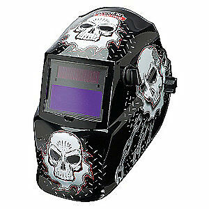 Lincoln Electric Welding Helmet shade 9 To 13 black white K3087 1 Blac