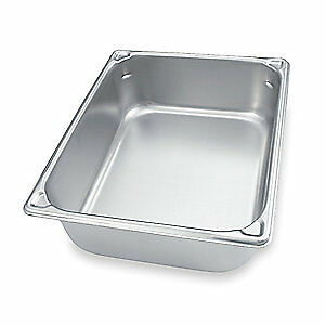 Vollrath Stainless Steel Pan two thirds Size 14 Qt 30162