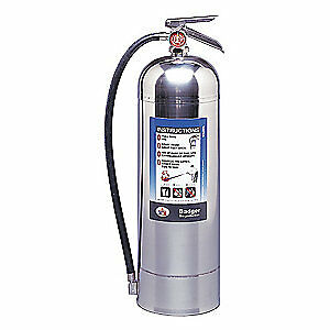 Badger Fire Extinguisher water 2 5 Gal a Wp 61