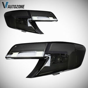 Tail Light For Toyota Camry 2012 2014 Led Brake Rear Stop Lamps Smoked Lens Pair