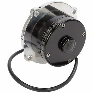 Meziere Insert Style Electric Water Pump Hd Motor Mopar Bb Wp105uhd Polished