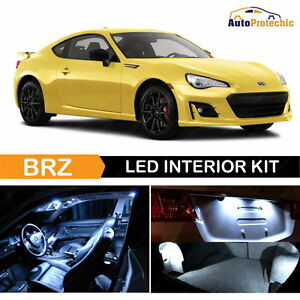 10x Led Cob White Light Interior Package Kit For 2013 2017 Subaru Brz Tool