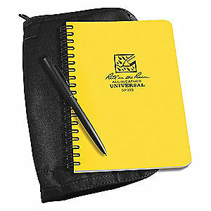 Rite In The Rain Notebook Kit 32 Sheets yellow Cover 373b kit