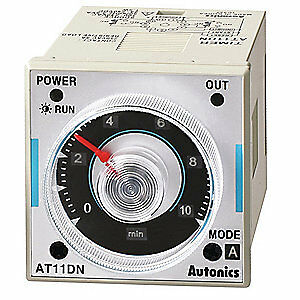 Autonics Time Delay Relay 120 To 240vac 5a dpdt At11dn