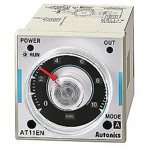 Autonics Time Delay Relay 100 To 240vac 5a spdt At11en