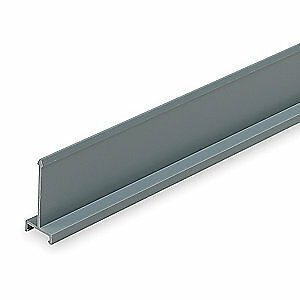 Panduit Lead Free Pvc Wiring Duct Divider Wall gray 6 Ft L D2h6 Gray
