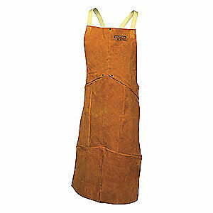 Lincoln Electric Welding Waist Apron leather 45 In L Kh804