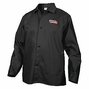 Lincoln Electric Welding Jacket black 2xl 33 In L Kh808xxl Black