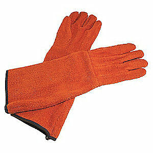 Sp Cotton Terry Cloth Cleanroom Gloves cotton universal pr H13201 0001 Orange