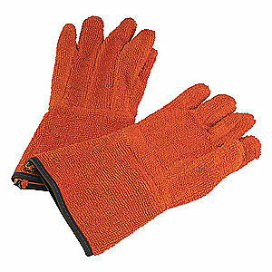 Sp Cotton Terry Cloth Cleanroom Gloves cotton universal pr H13201 0000 Orange