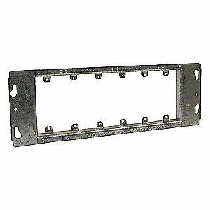 Raco Galvanized Steel Electrical Box Cover 6 gang blank 825