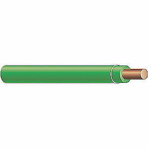 Southwire Company Building Wire thhn 14 Awg green 500ft 11583201 Green