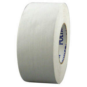 Polyken Vinyl Coated Cloth Gaffers Tape white 55 Yd L X 4 In W 510 White