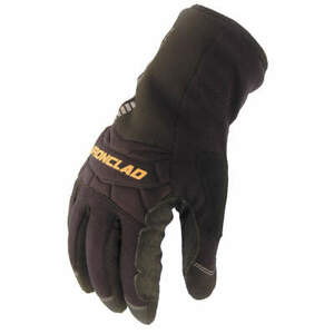 Ironclad Cold Protection Gloves insulated xl pr Ccw2 05 xl Black black