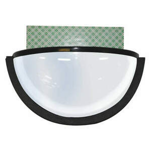 Ironguard Plastic Dome Mirror black w double Sided Tape 70 1130 Black
