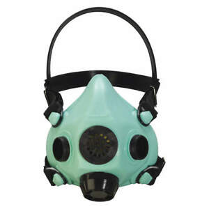 Honeywell North Half Mask Respirator threaded s Ru85002s Green