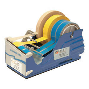Start Int Steel And Plastic Multi Roll Tape Dispenser blue 4 In W Sl7346 Blue