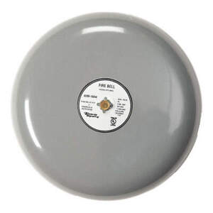 Edwards Signaling Fire Bell gray 8 In 20 To 24v 439d 8aw