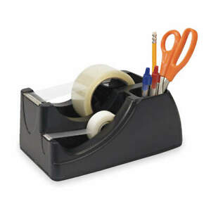 Officemate Recycled Desktop Tape Dispenser 3 4 96690 Black