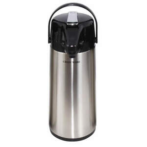 Crestware Leaver Airpot glass Lined 3 0 Liter Apl30g