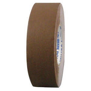 Polyken Vinyl Coated Cloth Gaffers Tape 11 5 Mil 72mm X 50m brown 510 Brown