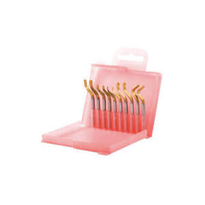 Shaviv Tin Hand Deburring Blade Tool Set 10 Pc 155 00251