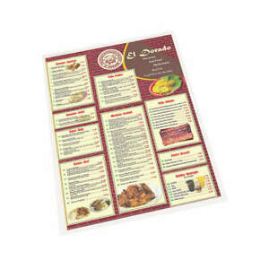Sircle Heat Laminating Pouches 12x18in pk100 Menu 07