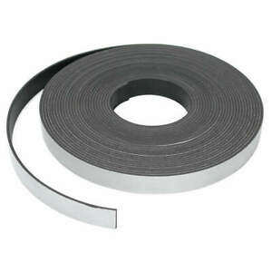 Master Magnetics Mag Strip 25 Ft L 1 2 In W pk6 07013