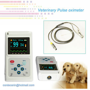 Us Shipping Pulse Oximeter Spo2 Pr Record Usb Software For Vet Veterinary Pet