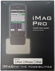 Id Tech Imag Pro Credit Card Reader