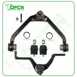 4pcs Lower Ball Joints Upper Control Arms For 1998 2001 Ford Ranger Explorer