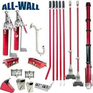 Level5 Jumbo 7 10 Drywall Taping Set 2 Pumps 2 Spotters 2 Angle Heads More