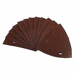 Eazypower Aluminum Oxide Emery Cloth Sanding Pad ao 3 5 8 pk5 50611 bag5