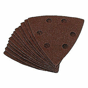 Eazypower Aluminum Oxide Emery Cloth Sanding Pad ao 3 1 8 pk5 50603 bag5
