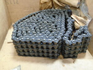 12ft 2149694 Roller Chain W 4 Row Connecting Link For M202 20ton Crane Shovel