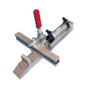 6 Pack Pneumatic Stretching Clamps Screen Mesh Stretcher For Screen Printing