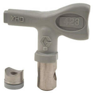 Graco Airless Spray Gun Tip tip Size 0 023 In Xhd423 Gray