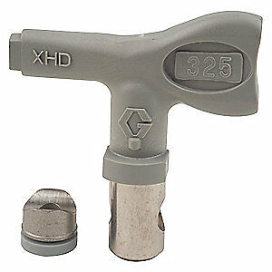 Graco Airless Spray Gun Tip tip Size 0 025 In Xhd325 Gray