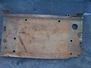Vintage Oliver 550 Gas Tractor battery Base Support 1959