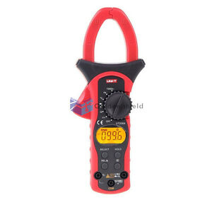 Uni t Ut206a Digital Lcd Clamp Meter Multimeter Ac Dc Voltage Amp Ohm Tester