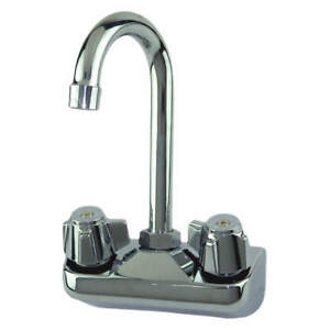 Dominion Commercial Faucets Sink Faucet 1 2in Ips lever 2 Holes 77 9116