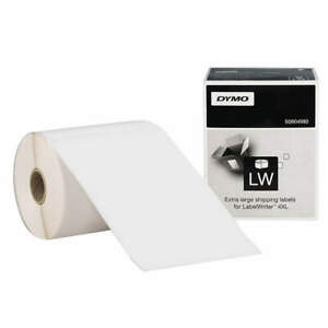 Dymo Paper Shipping Labels 4 X 6 In 220 Labels 1744907 Black white