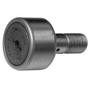 Smith Bearing Cam Follower standard Stud unsealed Cr 1 3 4