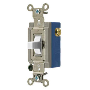 Wall Switch 1 Hp 3 position Center Off Hbl1556w