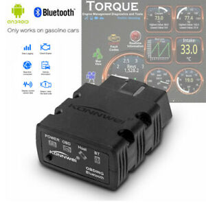 Elm327 Bluetooth Obd2 Obdii Car Code Reader Diagnostic Scanner For Android Pc