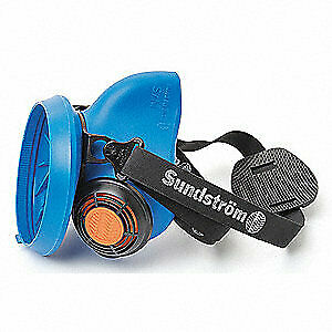 Sundstrom Safety Half Mask Respirator snap In Gasket s m Sr 100 S m Light Blue