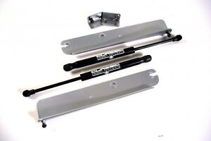 Cdc 1999 2004 Fits Ford Mustang Hood Struts Silver 0411 7012 35
